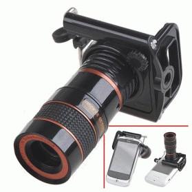 Mobile Phone Telescope Lens 8x Zoom Lensa Kamera Teropong Hp Tokopedia