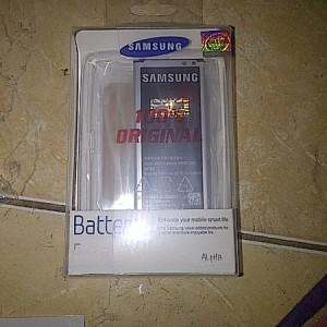Samsung Galaxy Alpha Sm G850 32gb Silver Tokopedia