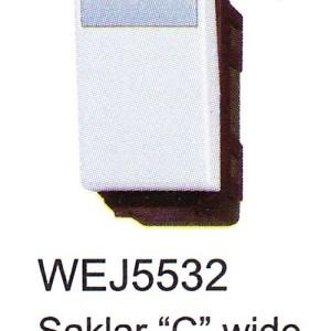 Saklar Panasonic Full Color Wide Series WEJ5532