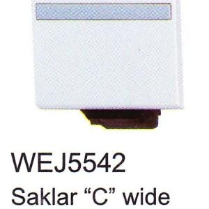 Saklar Panasonic Full Color Wide Series WEJ5542