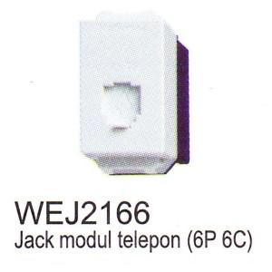Jack Modul Telephone (6P 4C) Panasonic WEJ2166