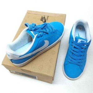 Jual The Best Sepatu Nike SB Blazer ori indo Casual Wanita biru JJ - 575 81a5aea5f3