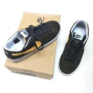 Jual Sepatu Nike SB Blazer ori indo Casual Wanita Hitam List Kuning JJ 572 f30b9af323