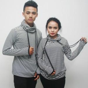 Jaket Baju Hangat Sweater Rnd Belang Hitam Tokopedia