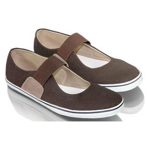 Jual Sepatu Casual FlatShoes Wanita Cewek Balet Slip On Trendy FMZ996