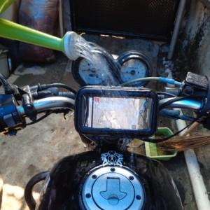 Holder Hp Gps Sepeda Motor Mobile Phone Bike Mount Smartphone Tokopedia