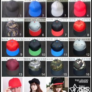 Topi Hip Hop Tokopedia