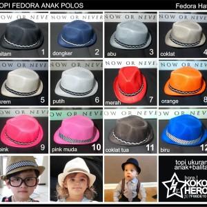Harga Promo Topi Fedora Anak Tokopedia