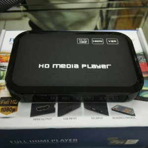 Full HD Media Player support vga kualitad mantap