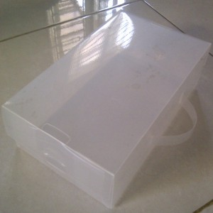 Kotak Sepatu Transparan Clear Tokopedia
