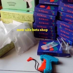 paket tag gun + gratis 1000 arrow tag bonus (alat tembak merek + isi)