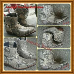Sepatu Jenggel Touring Kulit Tokopedia