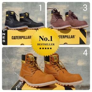 Sepatu Boots Caterpillar Safety Tokopedia