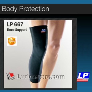 Knee Support Long Lp 667 Original Tokopedia