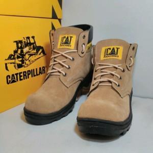 Sepatu Caterpillar Sefty Cream Tokopedia