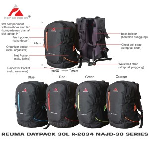 Ransel Daypack Laptop 30l Reuma Adventure Oasis R 2021 Tokopedia