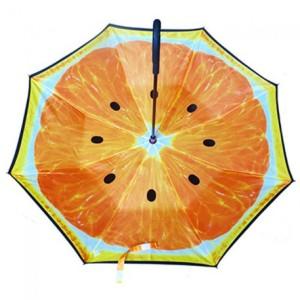 Design unik C Handle Kazbrella Umbrella Payung terbalik