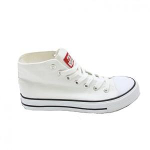 Faster Sepatu Sneakers Kanvas Cewek 1603-04 - Putih