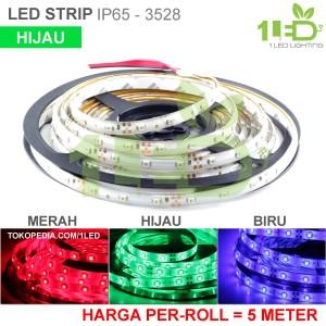 Flexible Lampu Led Strip 3528 Ungu Waterproof Harga Per 50cm Tokopedia