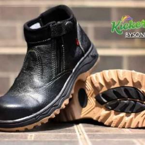 Sepatu Boot Kickers Kulit Tokopedia