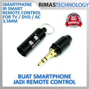 Minghuang Smartphone Ir Smart Remote Control For Tv Dvd Ac Etc 3 5mm Plug Tokopedia