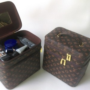 Tas Kosmetik Jumbo Lv Monogram Beutycase Tempat Make Up Tokopedia