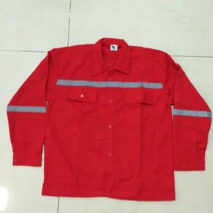 Baju Kerja Safety Lengan Panjang Warna Kombinasi Tokopedia