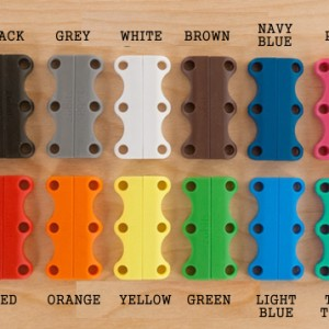 Zubits Magnet Pengikat Tali Sepatu Size 2 Hitam Putih Abu Biru Coklat Pink Tokopedia