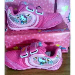 Sepatu Ando Hello Kitty Terbaru Sepatu Anak Perempuan Hitam Putih Tokopedia