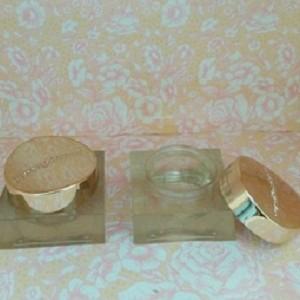 Pot Jar Cream Kosmetik Kaca 30gr Gold Silver Tokopedia