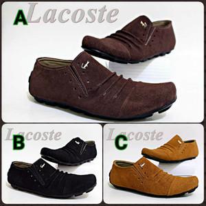 Sepatu Casual Pria Lacoste Tokopedia