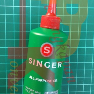 Jual Minyak Pelumas All Purpose Singer Oil 80cc