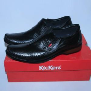Sepatu Kerja Pria Kickers Pantofel Kulit Tokopedia