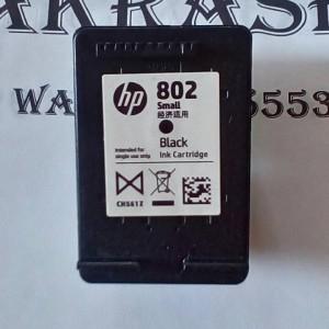 Catridge Hp 802 Black Tokopedia