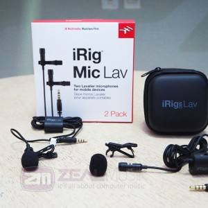 Ik Multimedia Irig Mic Lav Compact Lavalier Mic For Smartphone And Tablet Tokopedia