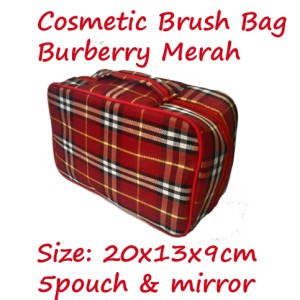 Cbb Branded Cosmetic Brush Bag Tas Penyimpanan Kosmetik 5pouch Tokopedia