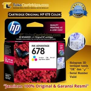 Cartridge Hp 678 Colour Tokopedia