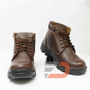 Sepatu Safety Boot Bahan Kulit Sapi Type Jeruk Av 1 Tokopedia