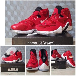 Sepatu Basket Nike Lebron James Xiii Elite Ep Original Bnib White Red Tokopedia