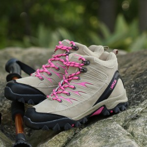 Sepatu Gunung Hiking Snta 605 Separu Tracking Outdoor Tokopedia
