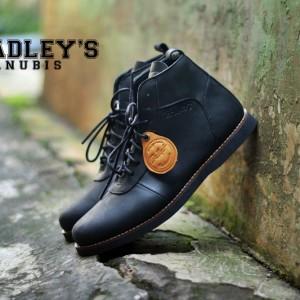 Bradleys Anubis Hitam Sepatu Casual Boots Pria Tokopedia