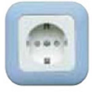 Stop Kontak Arde Panasonic Full color Wide Series WEJP1121TL-7 Biru