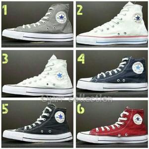 Sepatu Converse All Star High Navy Biru Dongker Grade Ori Termurah Tokopedia