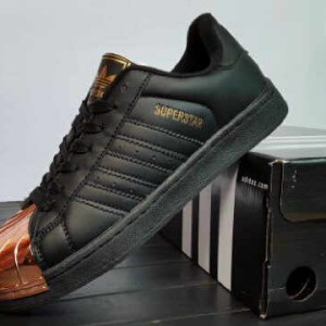 List Produk Sepatu Murah Adidas Superstar Black Broze Premium Woman ... 630bb42035