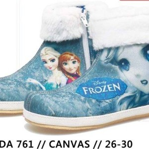 Bda 761 Sepatu Frozen Anak Sepatu Casual Boot Distro Anak Tokopedia