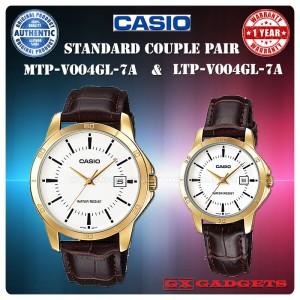 Jam Tangan Casio Original Couple Pria Wanita Mtp Ltp V006d 1b Harga Sepasang Tokopedia