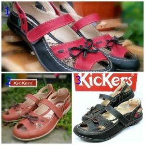 Sepatu Kickers Pita Sepatu Wanita Tokopedia