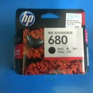 Tinta Hp 680 Black Hitam Tokopedia