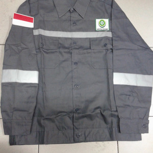 Baju Safety Atasan Baju Kerja Logo Safety Tokopedia