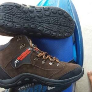 Sepatu Gunung Boot Black Mount Original Tokopedia